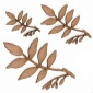 Ash Leaf & Twig - MDF Wood Shape