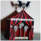 Engraved MDF Circus Tent / Marquee Kit - Wide