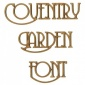 Coventry Garden MDF Wood Font - Create A Word - Max 4 Letters