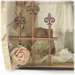 Fleur De Lis Fence Panel MDF Wood Shape - Style 4