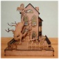 Haunted House with Graveyard - MDF Wood Kit