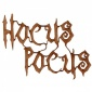 Hocus Pocus - Halloween MDF Wood Words