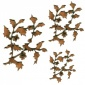 Holly Leaf Branch - MDF Wood Shape
