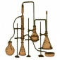 Chemistry Laboratory Apparatus  - MDF Wood Shape 05
