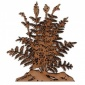 Maidenhair Fern MDF Wood Shape - Style 2