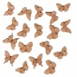 Sheet of Mini MDF Wood Butterflies - Style 3