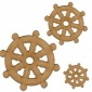 Ships Wheel Style 1 - MDF Wood Shape