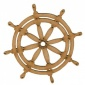 Ships Wheel Style 2 - MDF Wood Shape