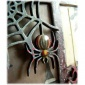 Spider Dangling from Web MDF Wood Shape