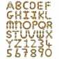 MDF Letters & Numbers - Steampipe Font