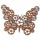 Steampunk Cog Butterfly MDF Wood Shape
