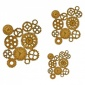 Steampunk Mechanical Cogs Motif Style 28