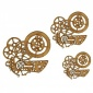 Steampunk Mechanical Clockworks Motif Style 30