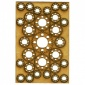 Sheet of Mini MDF Wood Cogs - Style 11