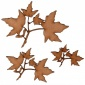 Sugar Maple Leaf & Twig - MDF Wood Shape