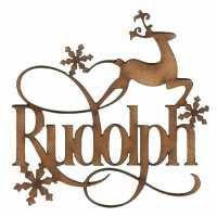 Christmas Reindeer Word Collection