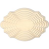Birch Plywood Shaped Plaques