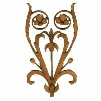 Art Deco & Nouveau Floral Shapes