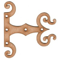 Hinges & Hardware Wood Shapes