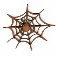 Spiders & Webs Wood Shapes