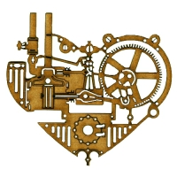Steampunk Clockworks Shapes