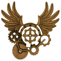 Steampunk Cog Motif Shapes