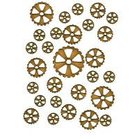Mini Cogs Wood Shapes
