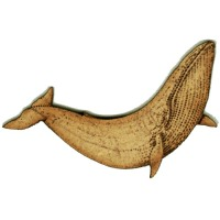 Dolphin, Whales & Shark Wood Shapes