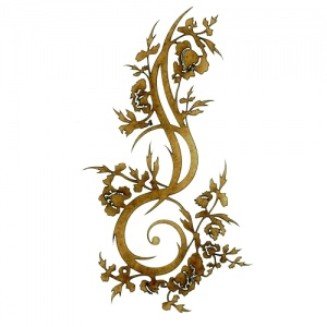 Wildflower Climber - Decorative Flourish Style 32