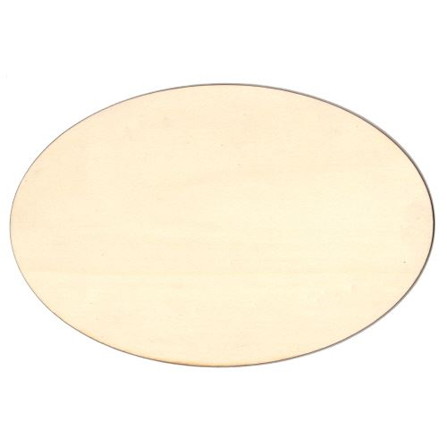 Oval Birch Ply Wood Blank Plaques for altered art and crafts -> Table Oval Laque