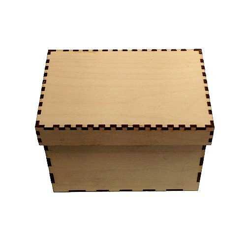 c0d8e88abc0 Birch Plywood Box Kits - Rectangle