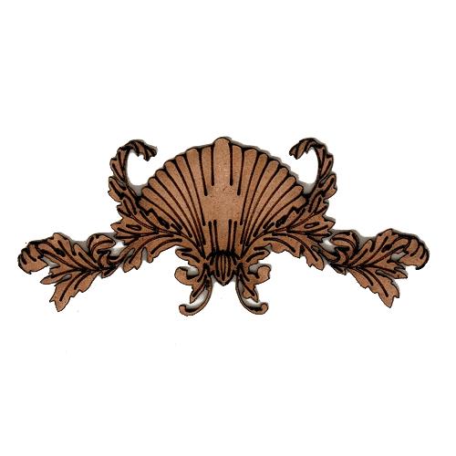 art deco nouveau style ornament 10 mdf wood shape. Black Bedroom Furniture Sets. Home Design Ideas