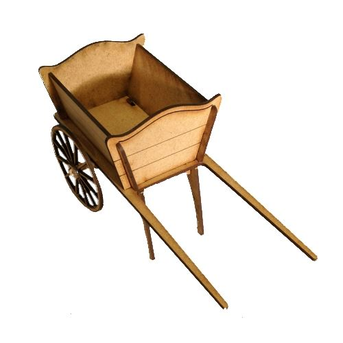 3d Mdf Wheelbarrow Or Cart Kit