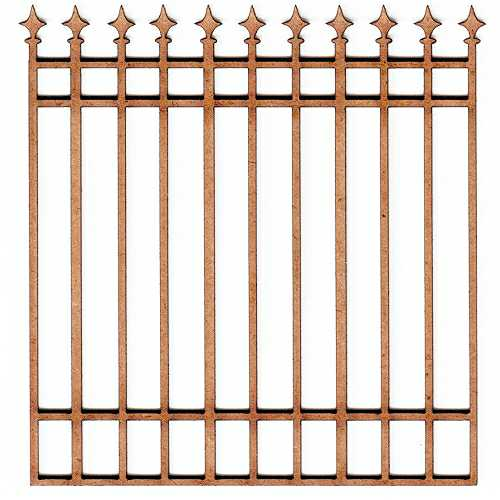 Wood fence panel shape 9 for altered art and craft projects for Decorative mdf