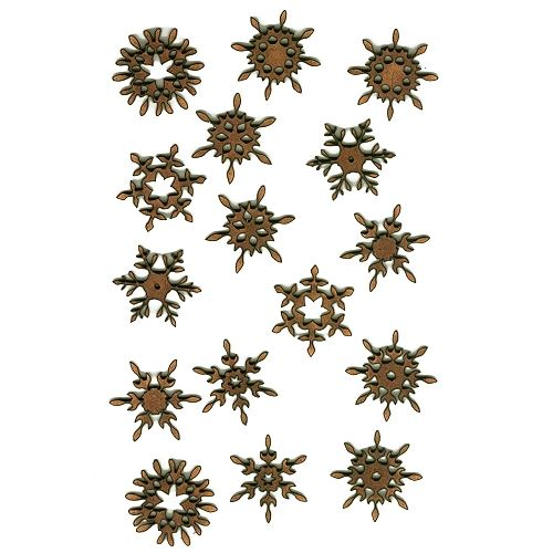 mini mdf christmas snowflake wood shapes 1 for arts and crafts