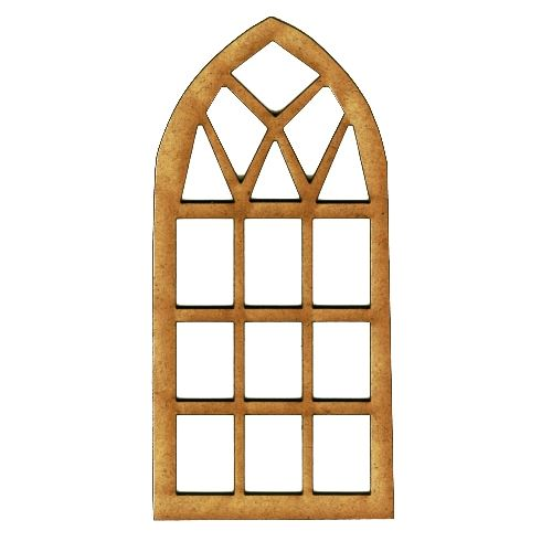 Window style 15 mdf wood shape for Window shapes and sizes