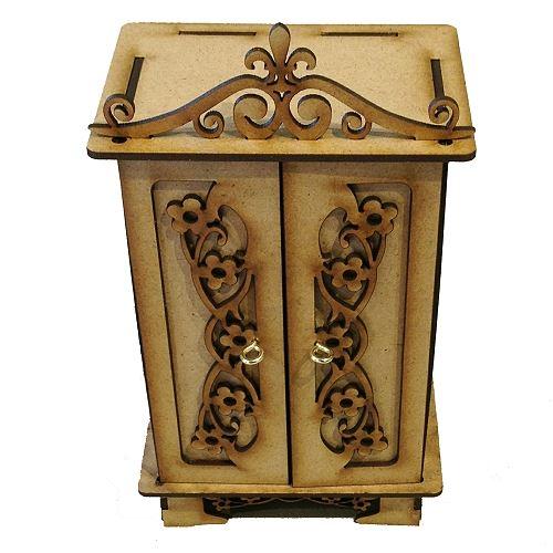 MDF Curio Cabinet Kit