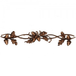 Oak Leaves and Acorns Border MDF Wood Shape