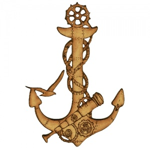 Anchor Collage - MDF Wood Shape