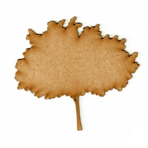 Apple Tree MDF Wood Shape