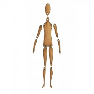 Standard Jointed Art Doll Kit - Style 3