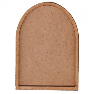Arch ATC Wood Blank with Plain Frame
