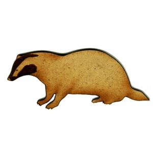 Badger MDF Wood Shape Style 1