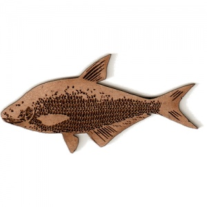 Bronze Bream MDF Fish Wood Shape