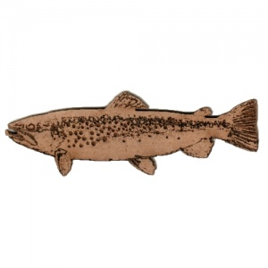 Brown Trout MDF Fish Wood Shape