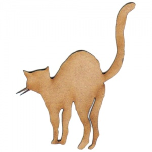 The Cats Behind - MDF Wood Shape