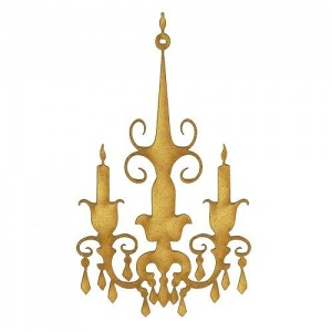 Chandelier MDF Wood Shape - Style 6