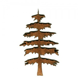 Christmas Tree MDF Wood Shape Style 2