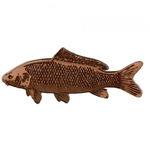 Common Carp MDF Fish Wood Shape