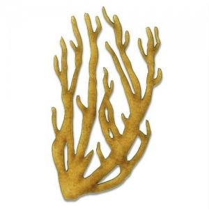 Coral - MDF Wood Shape Style 1